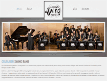 Tablet Preview of colouredswingband.it
